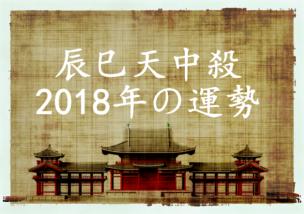辰巳天中殺 2018 運勢