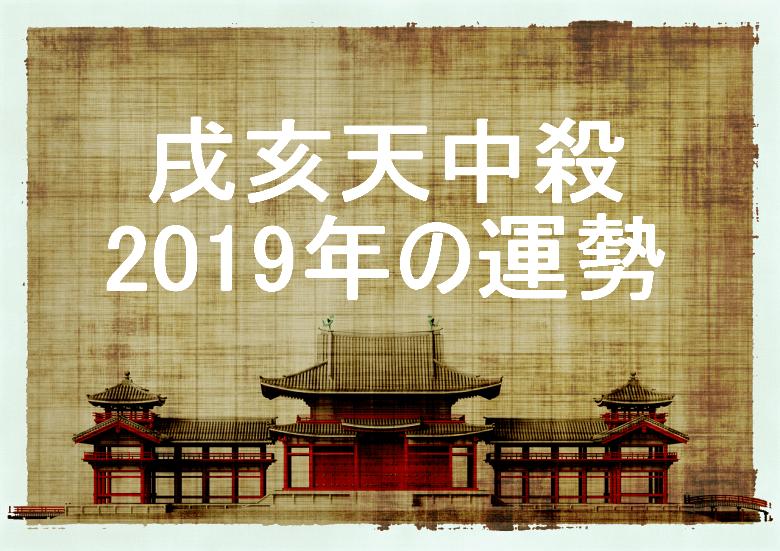 2019年 戌亥天中殺 運勢