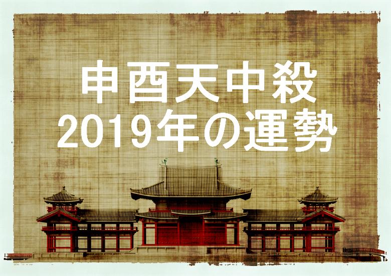 2019年 申酉天中殺 運勢