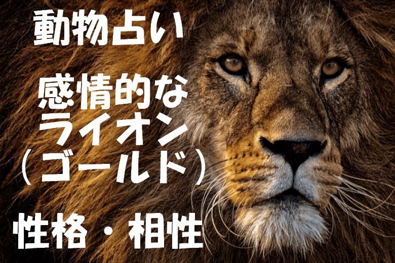 動物占い ライオン ゴールド