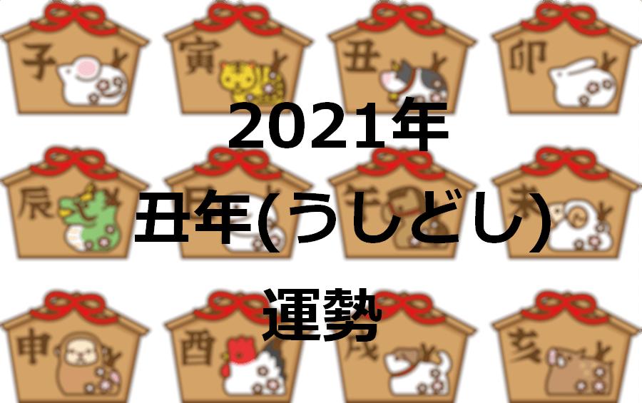 丑年 2021年 運勢